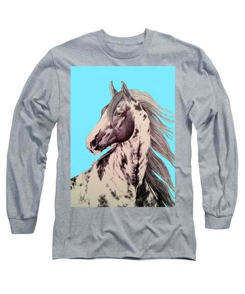 Loud Paint 09925 Long Sleeve T-Shirt