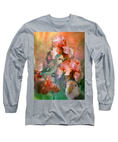Love Among The Irises Long Sleeve T-Shirt