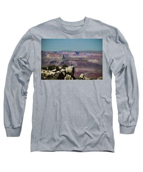 Love At The Grand Canyon Long Sleeve T-Shirt