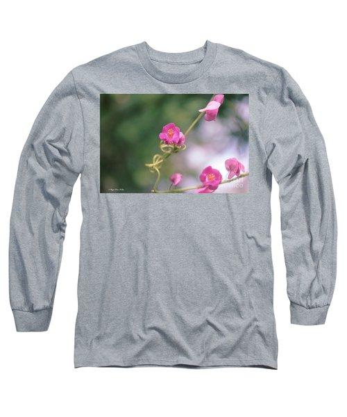 Long Sleeve T-Shirt featuring the photograph Love Chain by Megan Dirsa-DuBois