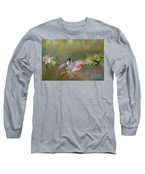 Love Couple Long Sleeve T-Shirt by Eva Lechner