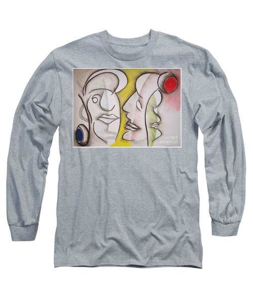 Love In Between Long Sleeve T-Shirt