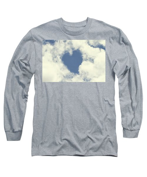 Love Is In The Air Long Sleeve T-Shirt by Peggy Collins