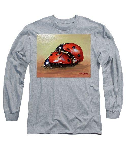 Love Long Sleeve T-Shirt by Janet Garcia