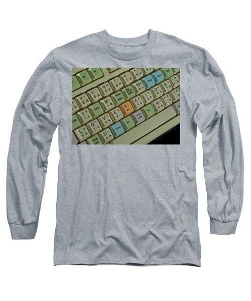 Love Puzzle Keyboard Long Sleeve T-Shirt