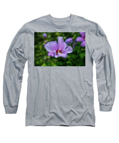 Lovely Hibiscus Long Sleeve T-Shirt
