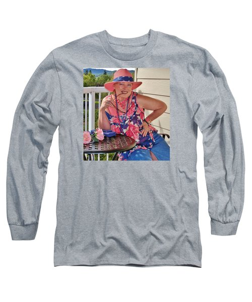 Lovely View Long Sleeve T-Shirt by VLee Watson