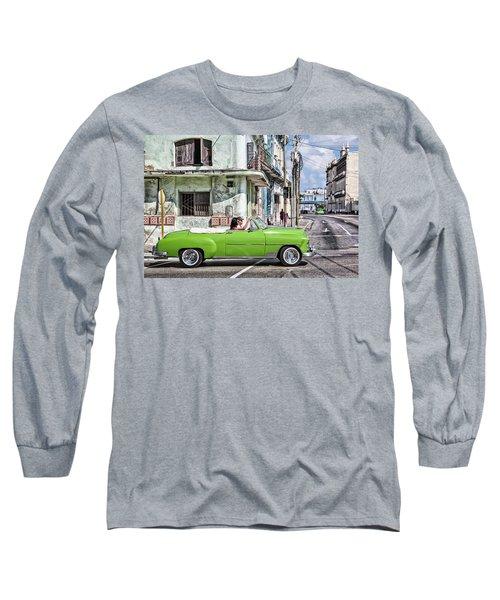 Lovin' Lime Green Chevy Long Sleeve T-Shirt