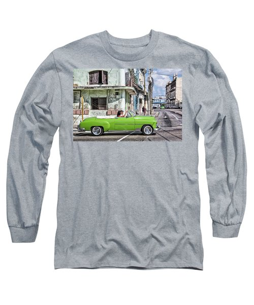 Lovin' Lime Green Chevy Long Sleeve T-Shirt