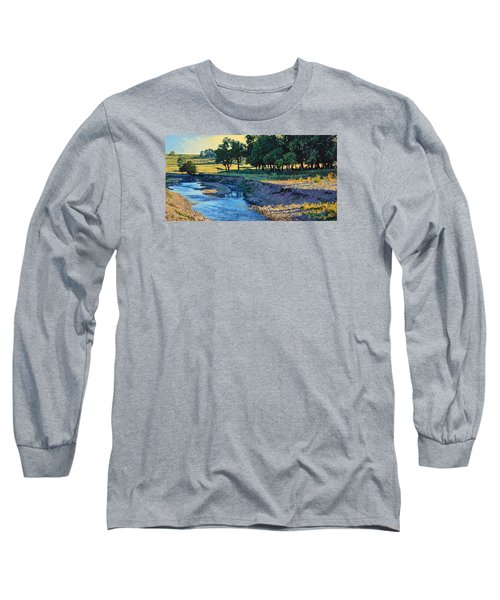 Low Water Morning Long Sleeve T-Shirt by Bruce Morrison