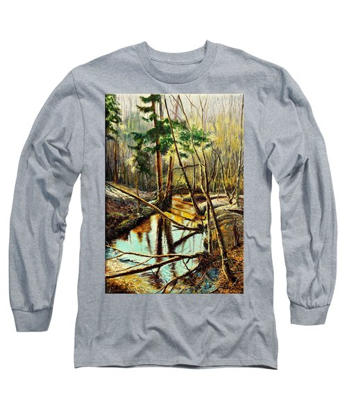 Lubianka-1- River Long Sleeve T-Shirt