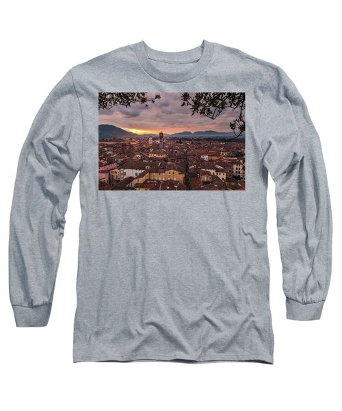 Lucca In Tuscany Long Sleeve T-Shirt