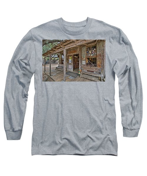 Luckenbach Post Office And General Store_4 Long Sleeve T-Shirt