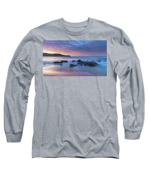 Luminescent Sunrise Seascape Long Sleeve T-Shirt