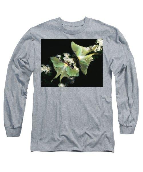 Luna Moths Long Sleeve T-Shirt