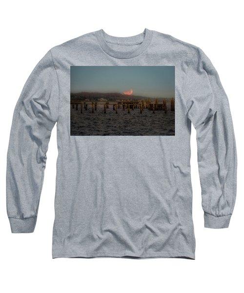 Lunar Eclispe  Long Sleeve T-Shirt