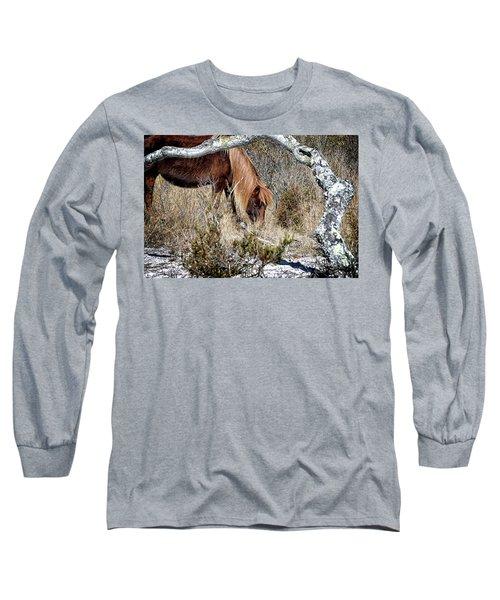 Lunchtime For Gokey Go-go Bones Long Sleeve T-Shirt