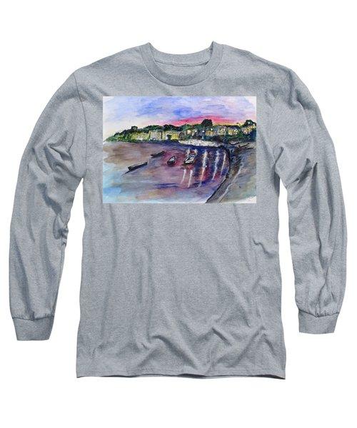 Luogo Mergellina, Napoli Long Sleeve T-Shirt