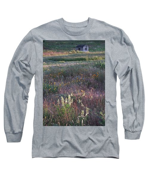 Long Sleeve T-Shirt featuring the photograph Lupine by Laurie Stewart