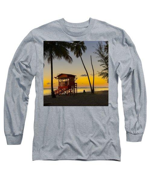 Luquillo Sunset  Long Sleeve T-Shirt