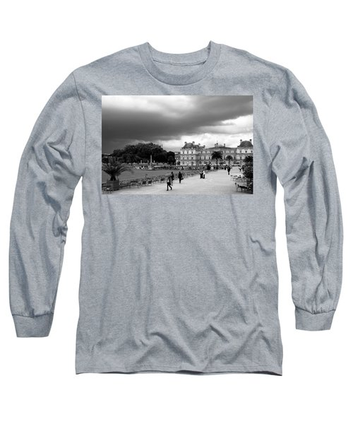 Luxembourg Gardens 2bw Long Sleeve T-Shirt