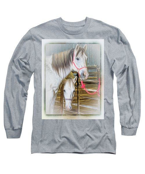 Lvha_ Digital Art Painting #1 Long Sleeve T-Shirt