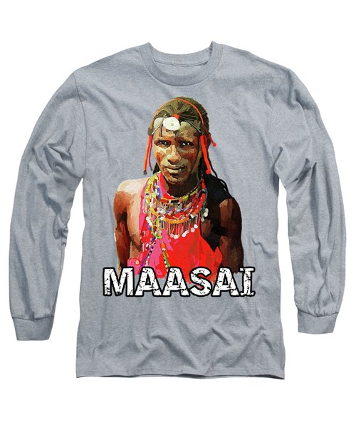 Maasai Moran Long Sleeve T-Shirt