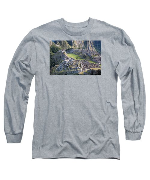 Machu Picchu Inca Ruins Long Sleeve T-Shirt