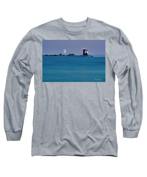 Mackinac Moon Long Sleeve T-Shirt