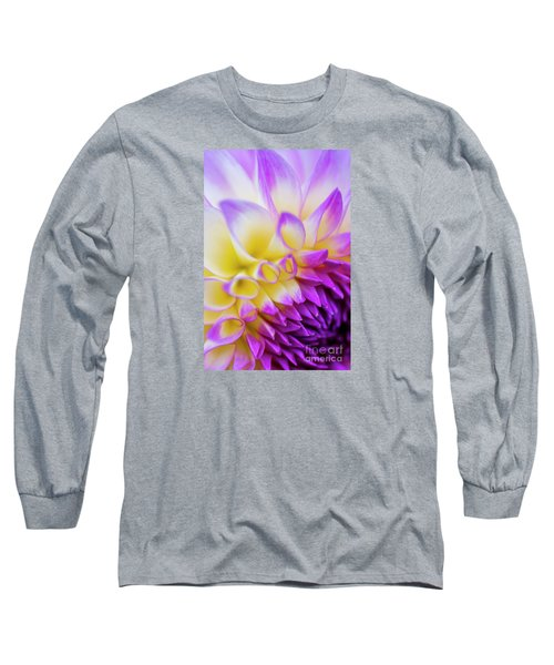 Macro Dahlia Long Sleeve T-Shirt