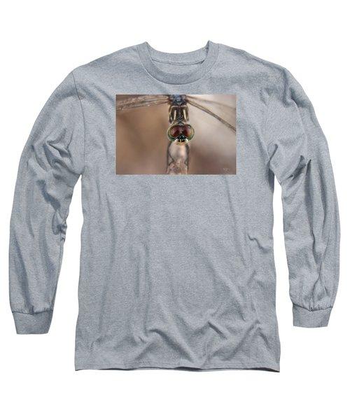 Macro Dragonfly Long Sleeve T-Shirt