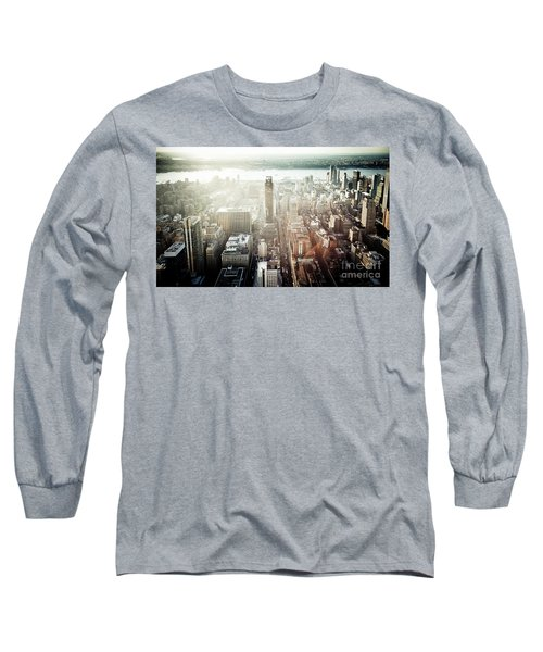 Sunset At Macy's Long Sleeve T-Shirt