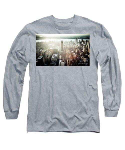 Sunset At Macy's Long Sleeve T-Shirt