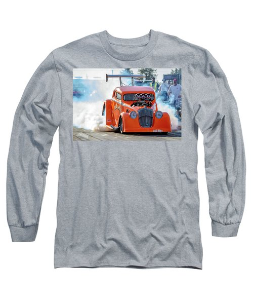 Long Sleeve T-Shirt featuring the photograph Mad Mike Racing by Bill Gallagher