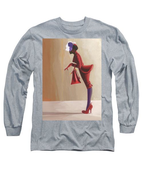 Madame Rouge Long Sleeve T-Shirt