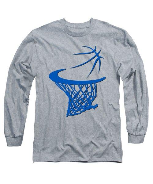Magic Basketball Hoop Long Sleeve T-Shirt