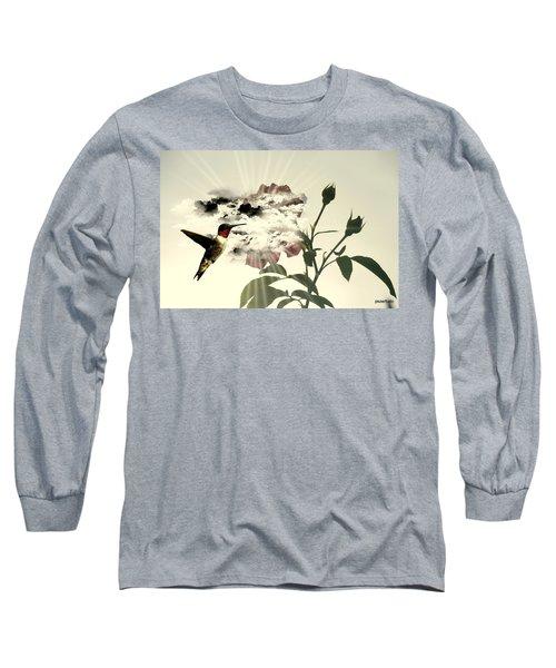 Magic Flower Long Sleeve T-Shirt by Paulo Zerbato