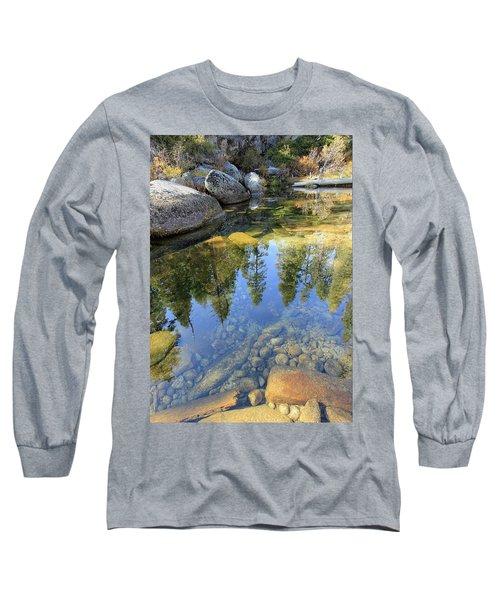 Magic Light On Big Silver Long Sleeve T-Shirt