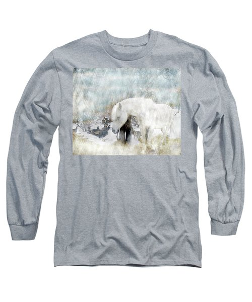 Magical Moments On A Snowy Winter's Day Long Sleeve T-Shirt