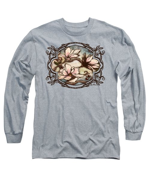 Magnolia Branch II Long Sleeve T-Shirt