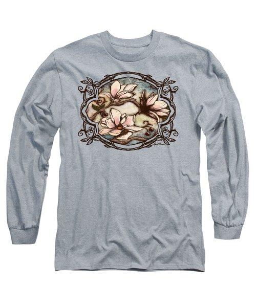 Magnolia Branch II Long Sleeve T-Shirt