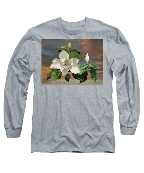 Magnolia Sunset Long Sleeve T-Shirt