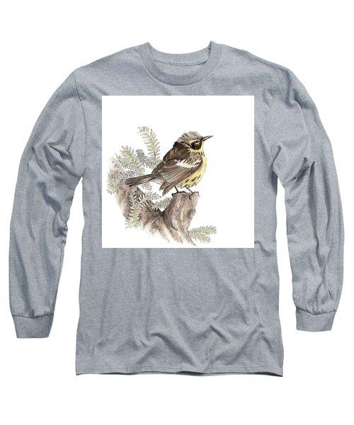 Magnolia Warbler Long Sleeve T-Shirt