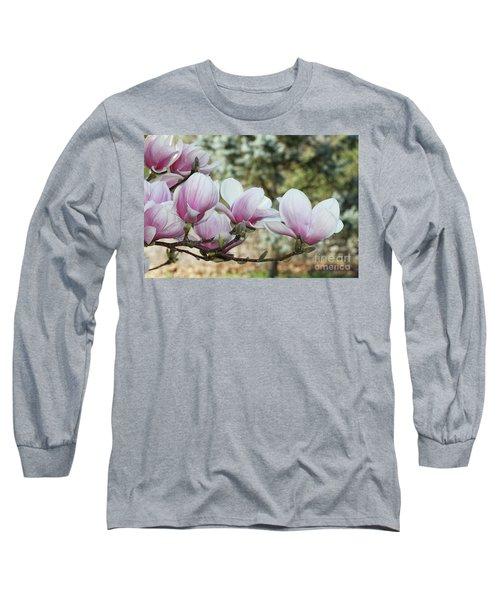 Magnolias #3 Long Sleeve T-Shirt