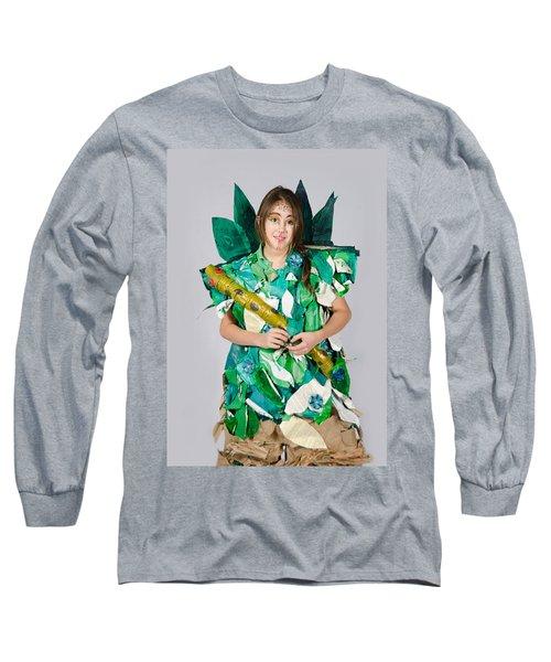 Mahko In The Jungle Book Long Sleeve T-Shirt