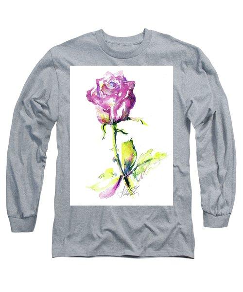 Maiden Rose Long Sleeve T-Shirt