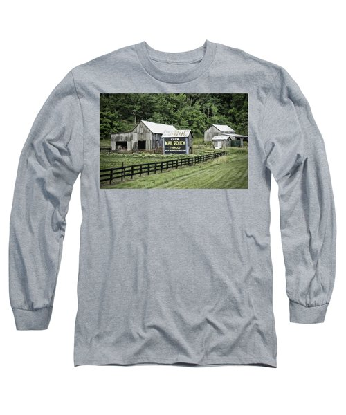 Mail Pouch Tobacco Barn Long Sleeve T-Shirt