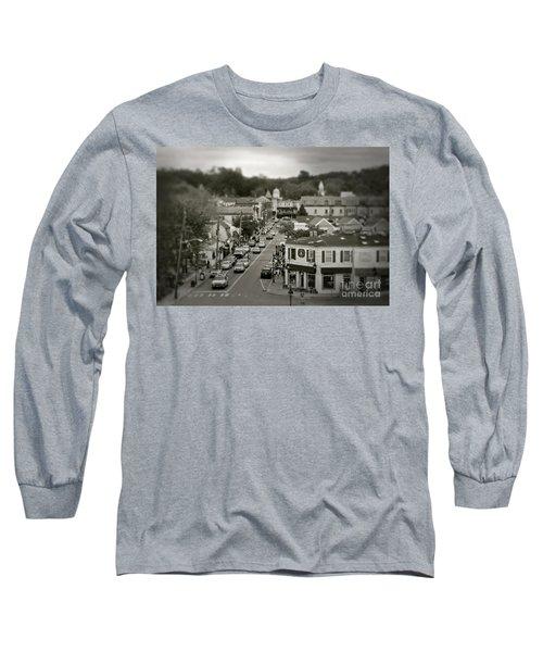 Main Street, Port Jefferson, Ny Long Sleeve T-Shirt