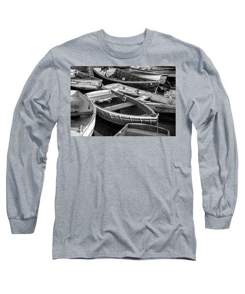 Maine Boats Long Sleeve T-Shirt