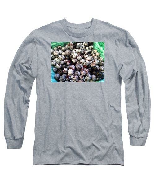 Maine Pearls Long Sleeve T-Shirt by Olivier Calas